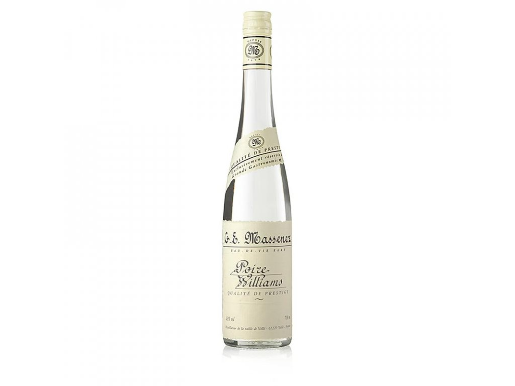 139745 massenez eau de vie poire williams prestige williams pear 43 prozent vol alsace