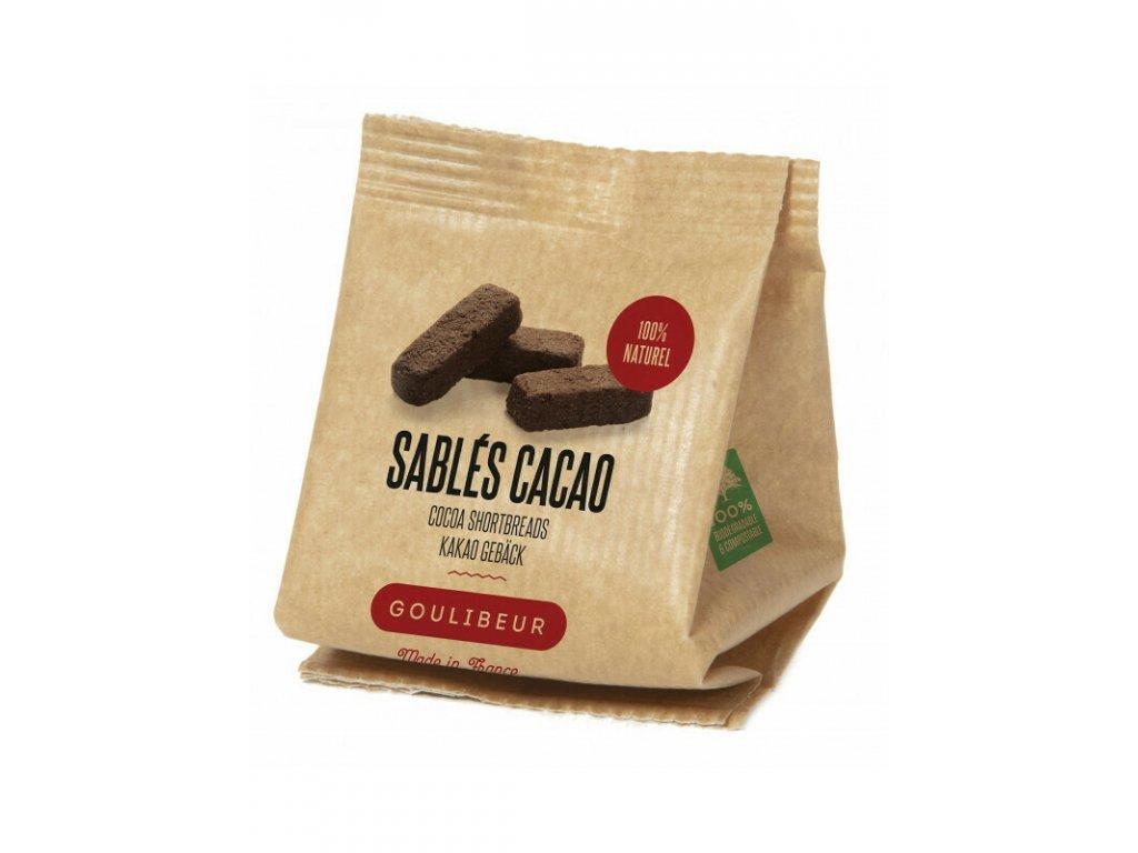 Sáček mini sablés - Extra brut Cocoa, 30 g