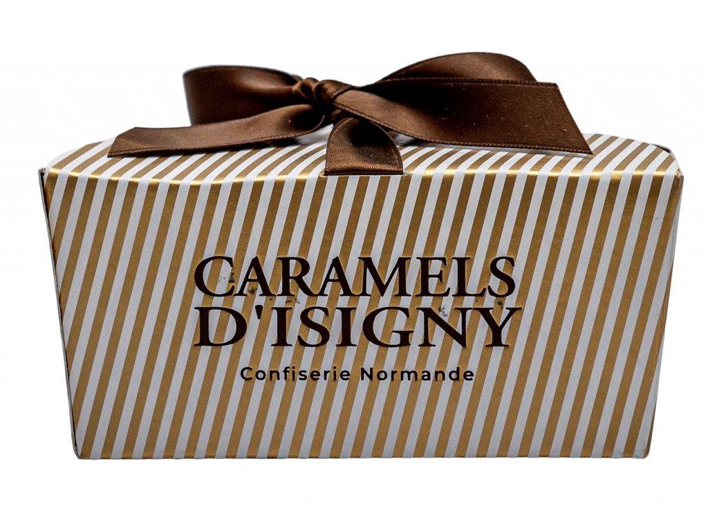 Slaný máslový a krémový karamel 125g, dárková krabička