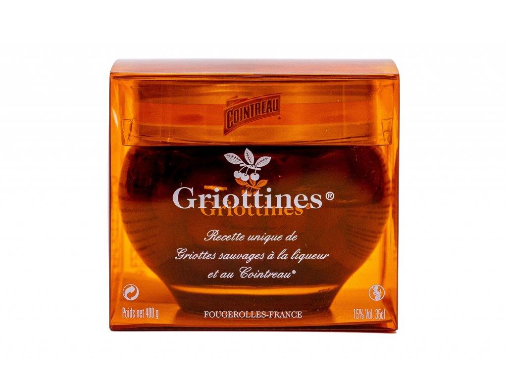 GRIOTTINES v Cointreau, 350 ml, alk. 15%- dárkové balení