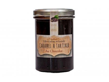 Karamelový krém s čokoládou, 250g, sklo