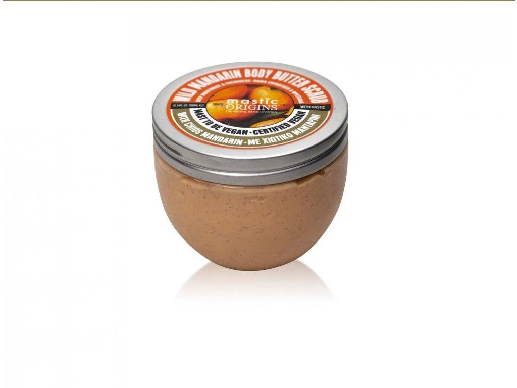 Wild Mandarin Butter Scrub 330 ml - Tělový máslový peeling