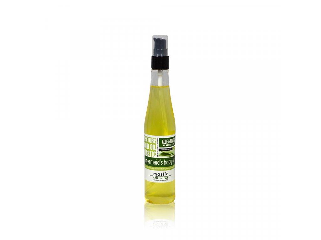 Mermaid's Massage Oil 175 ml - Tělový olej ideální pro masáže, Aloe & Mastic