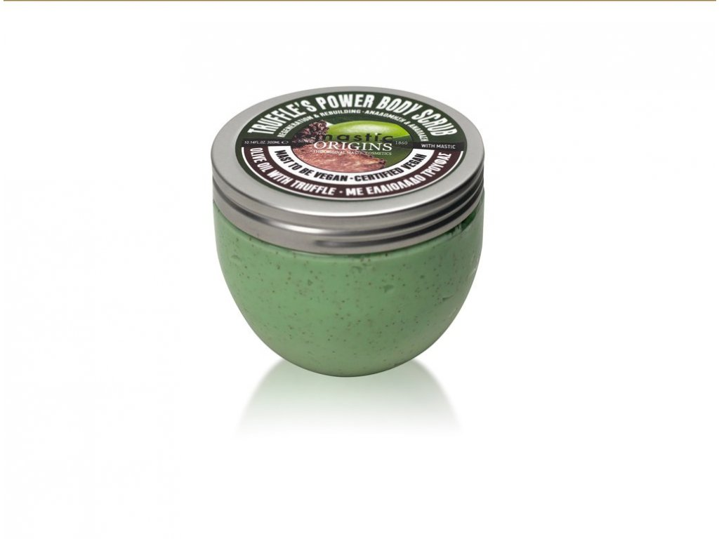 Truffle's Power Scrub 300 ml - Tělový peelingový krém