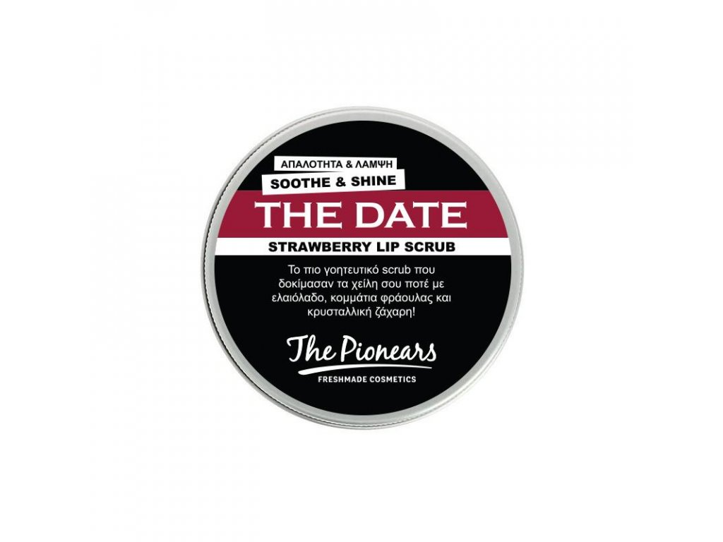 The Date 30 ml - Jahodový peeling na rty, The Pionears