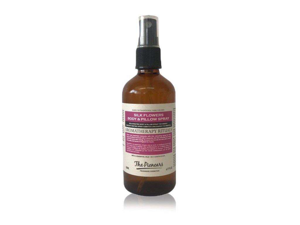 Silk Flowers Body & Pillow Spray 100 ml - Osvěžující tělový sprej