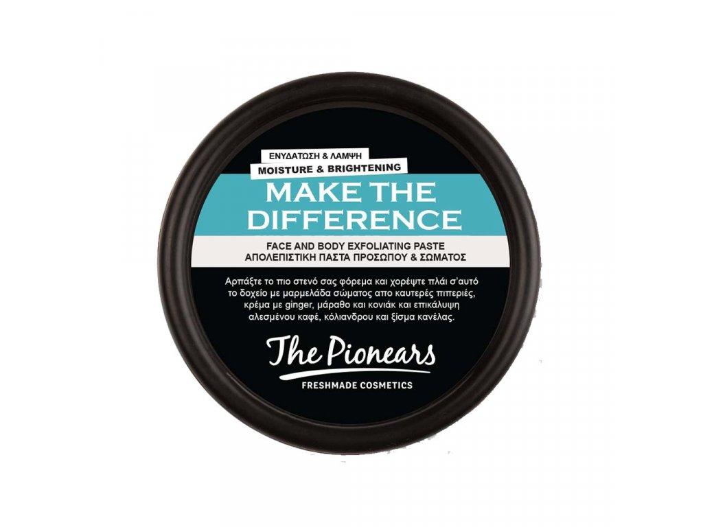 Make The Difference 100 ml - Detoxikační pasta na obličej a tělo 1