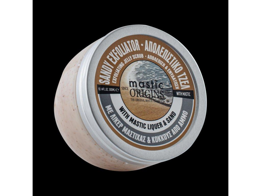 Sandy Exfoliator 300 ml - Exfoliační tělový peeling 1