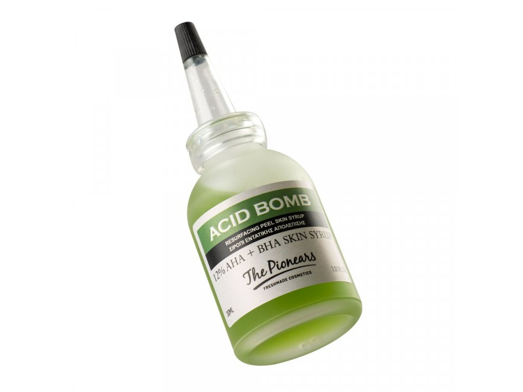 ACID BOMB 30 ml - Intenzivní sirup 12% AHA / BHA směs, The Pionears