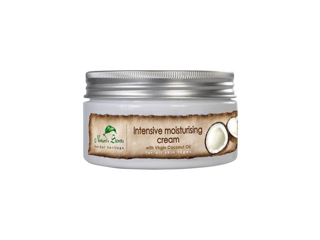 intensive moisturising cream virgin coconut oil