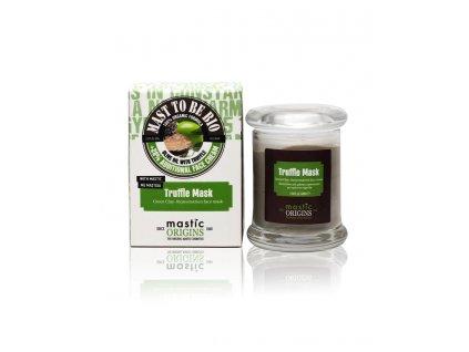 Trouffle Mask 60 ml - Rekonstrukční maska se zeleným jílem