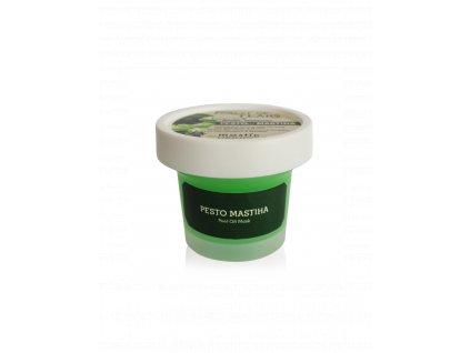 Pesto Mastiha 150 g - Hydratační a zpevňující maska s divokou bazalkou a mastikem 1