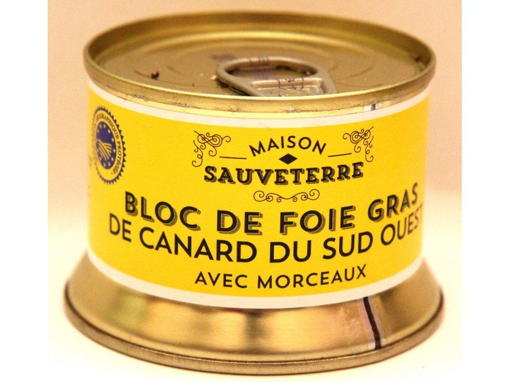 Kachní Foie Gras - Bloc de Foie Gras de Canard du Sud Ouest - 130g