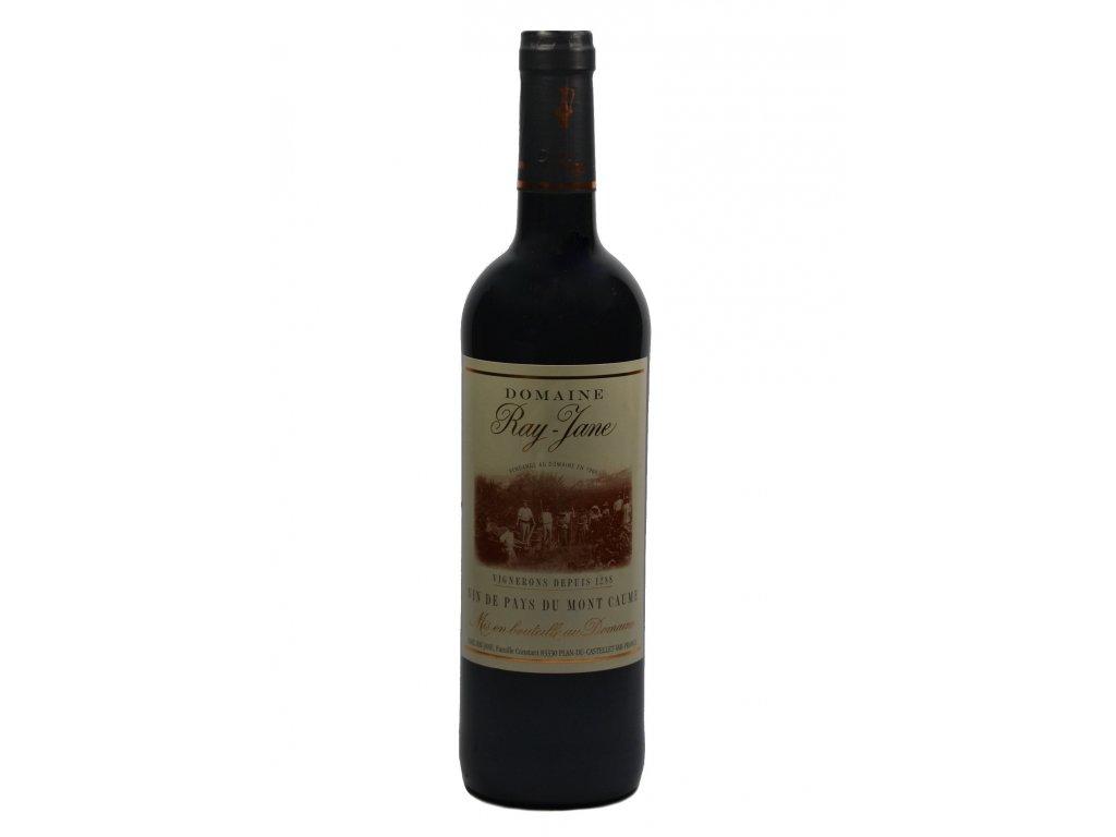 domaine ray jane vin de pays rouge 2013
