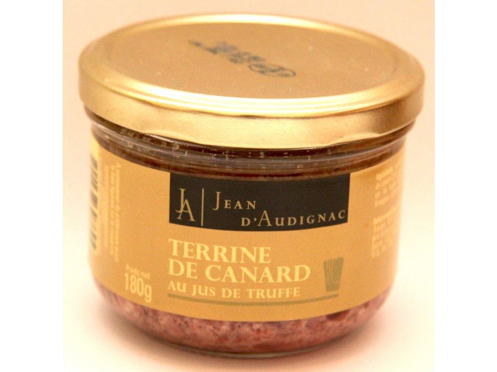 Kachní Terina s lanýžovou štavou - 180g - Terrine de Canard au jus de Truffe