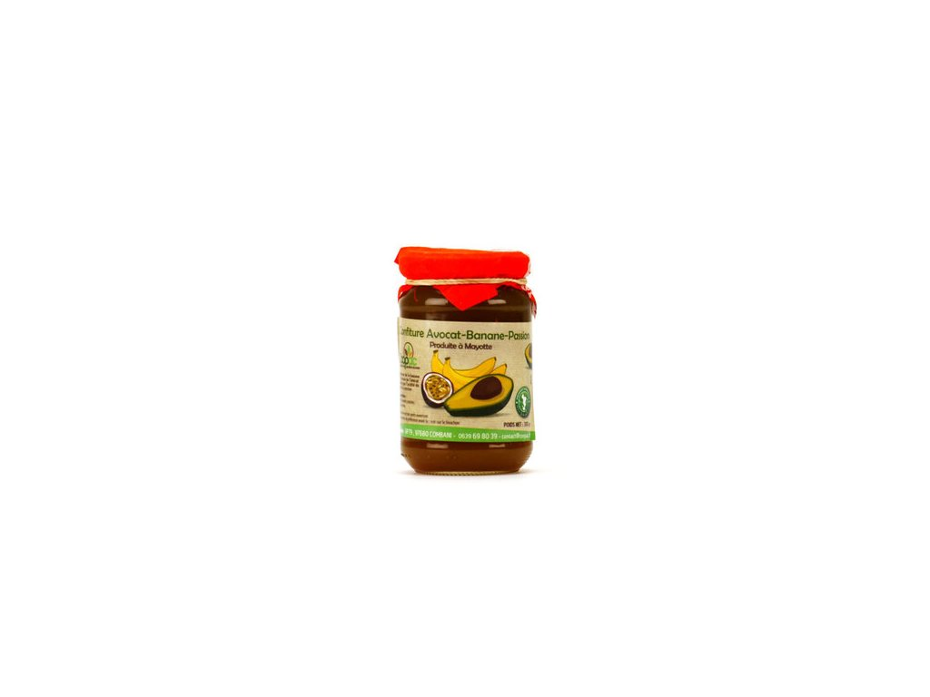 Confiture Avocat Banane Passion Mayotte