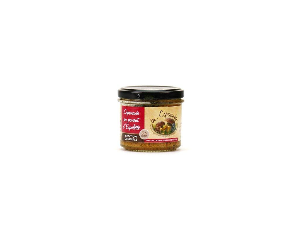 Cepenade Sauce Aux Cepes Piment Espelette