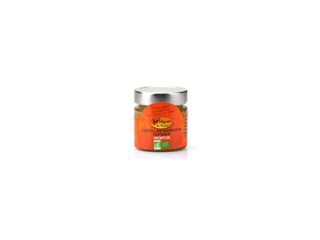 Toastinette Lentilles Sarrasin Paprika Bio Tartiner