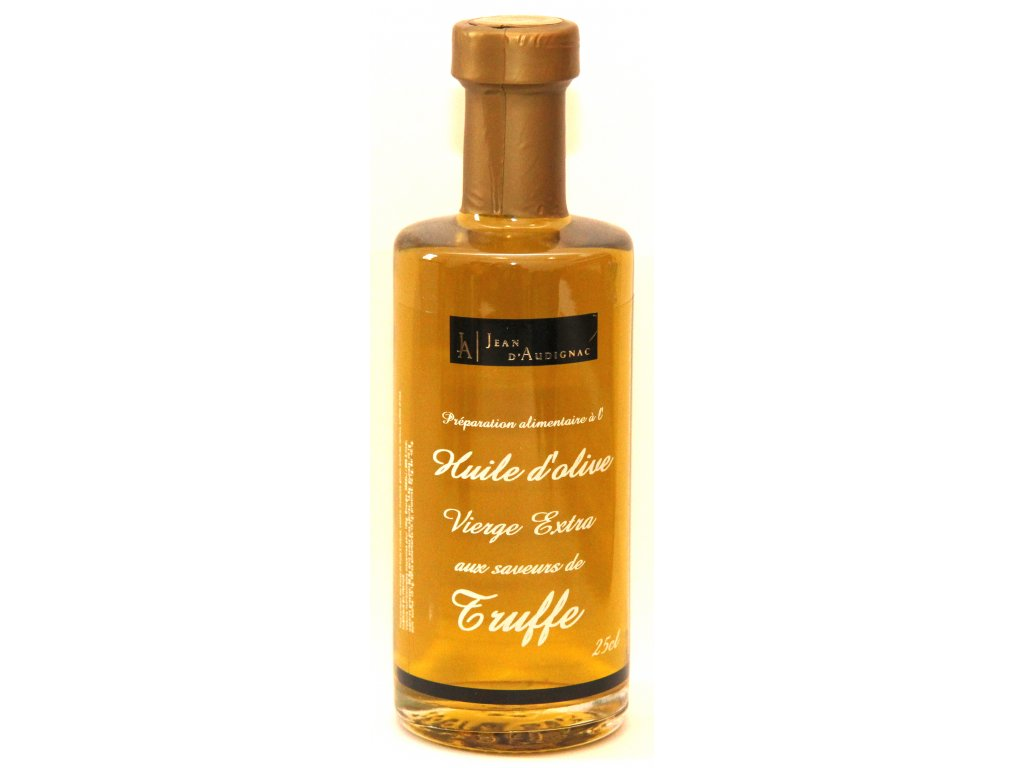 Olivový olej extra panenský s lanýžy - Huile d`Olive Vierge Extra aux Saveurs de Truffe - 25cl