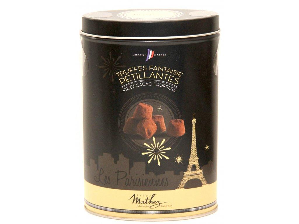 Pralinky kakaové v dárkové krabičce - Cacao Truffles de France - 200g