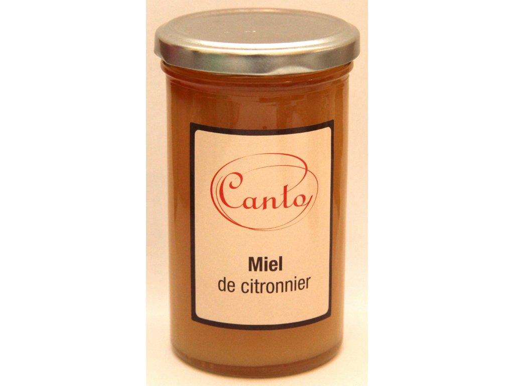 Citrónový med - Miel de Citronnier - 350g