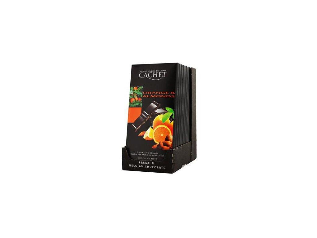 Chocolat noir orange & amandes