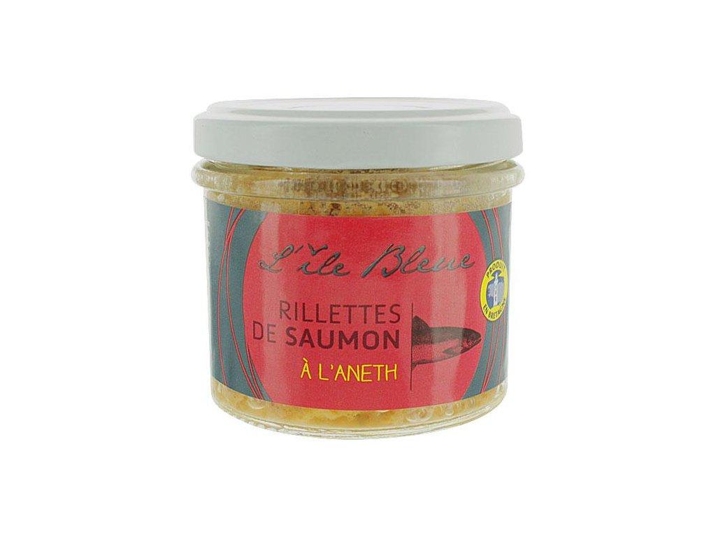 Rillettes de saumon à l'aneth