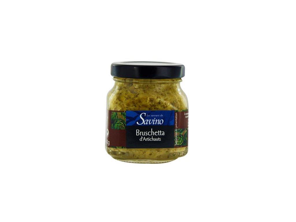 Bruschetta d'artichauts