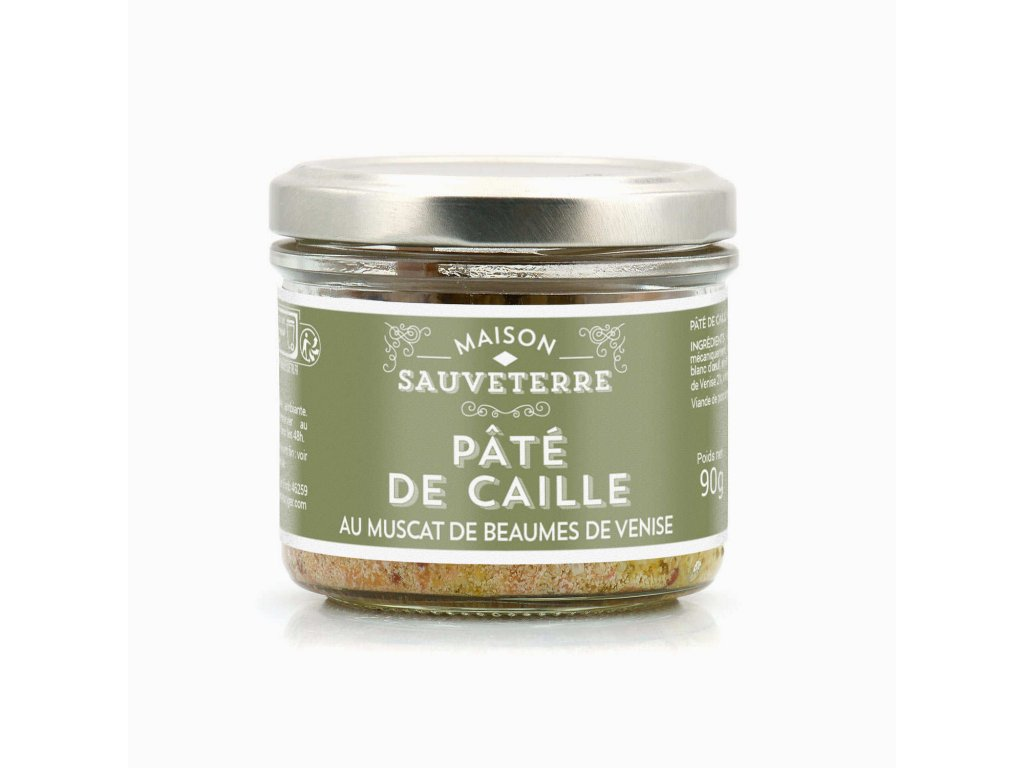 Pate Caille Muscat Beaumes Venise
