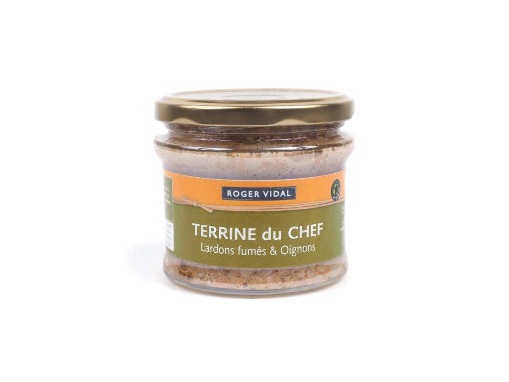 Terrine Chef Aux Lardons Fumes Oignons