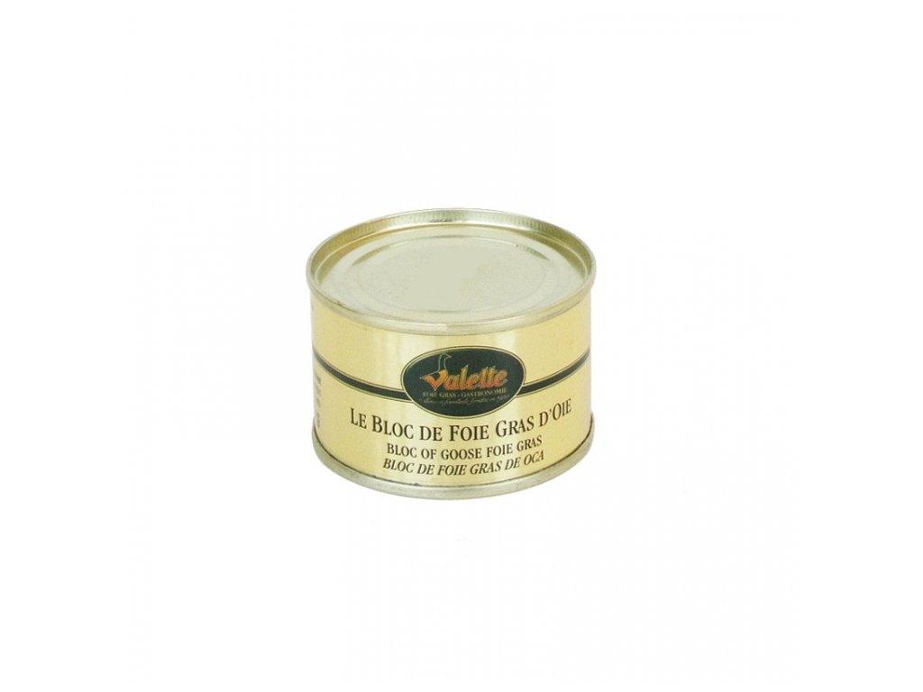 le bloc de foie gras d oie