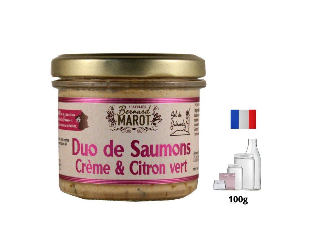 Duo de Saumons Creme Citron Vert 2