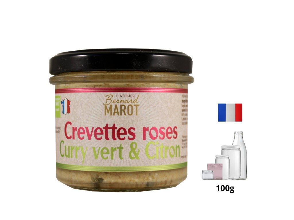 Crevettes Roses Curry Vert Citron (1)