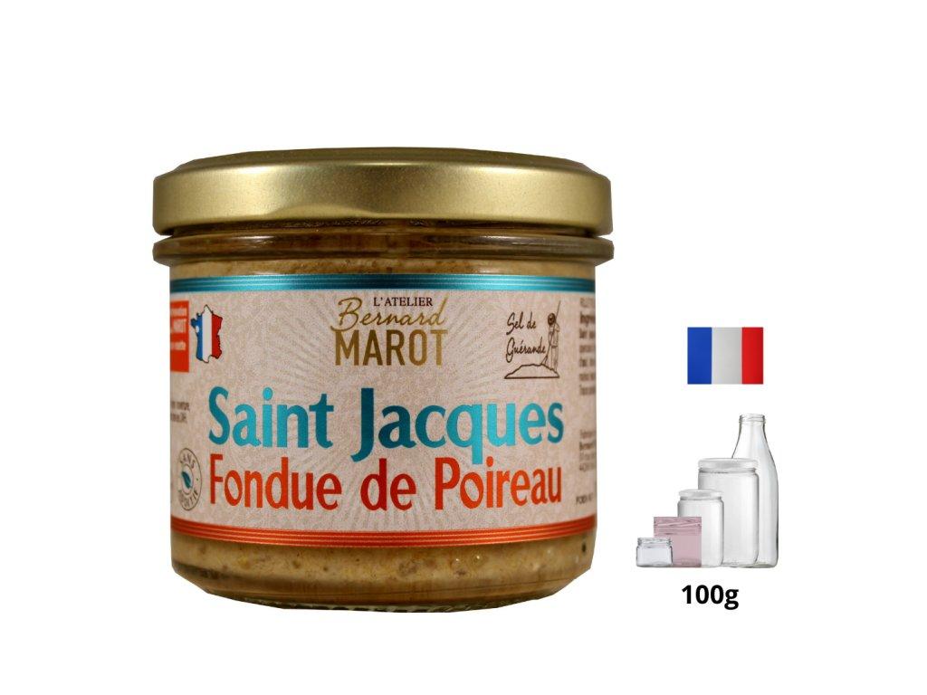 St Jacques Fondue de Poireau