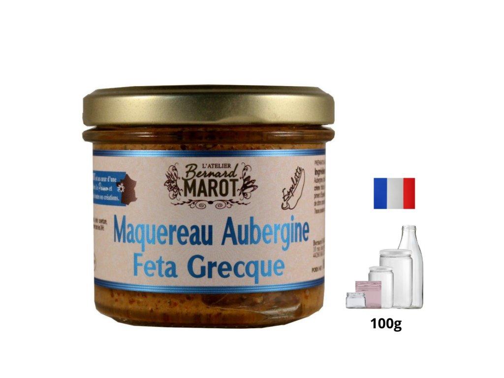 Maquereau Aubergine Feta Grecque