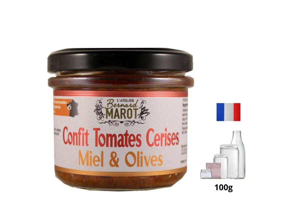Confit Tomates Cerises Miel Olives