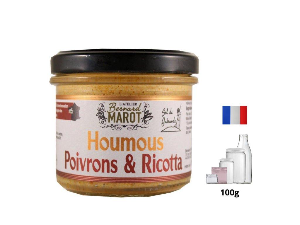 Houmous Poivrons Ricotta