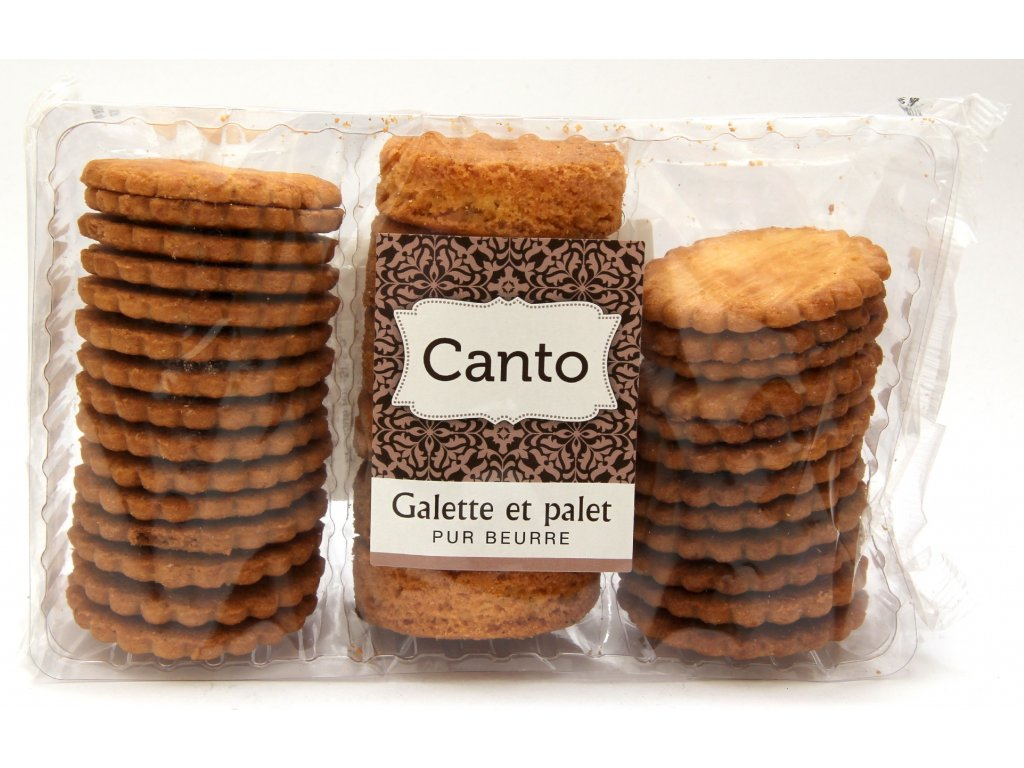 galettes palets pur beurre Canto