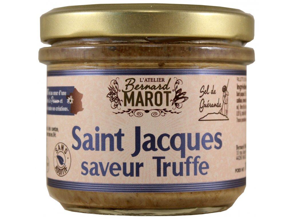 Poisson 100 g St Jacques saveur truffe ABM