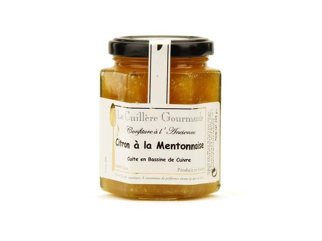 Confiture Ancienne Citron Mentonnaise