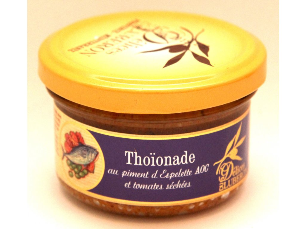 Tapenáda z tuňáka - Thoionade au piment d Espelette AOC - 90g