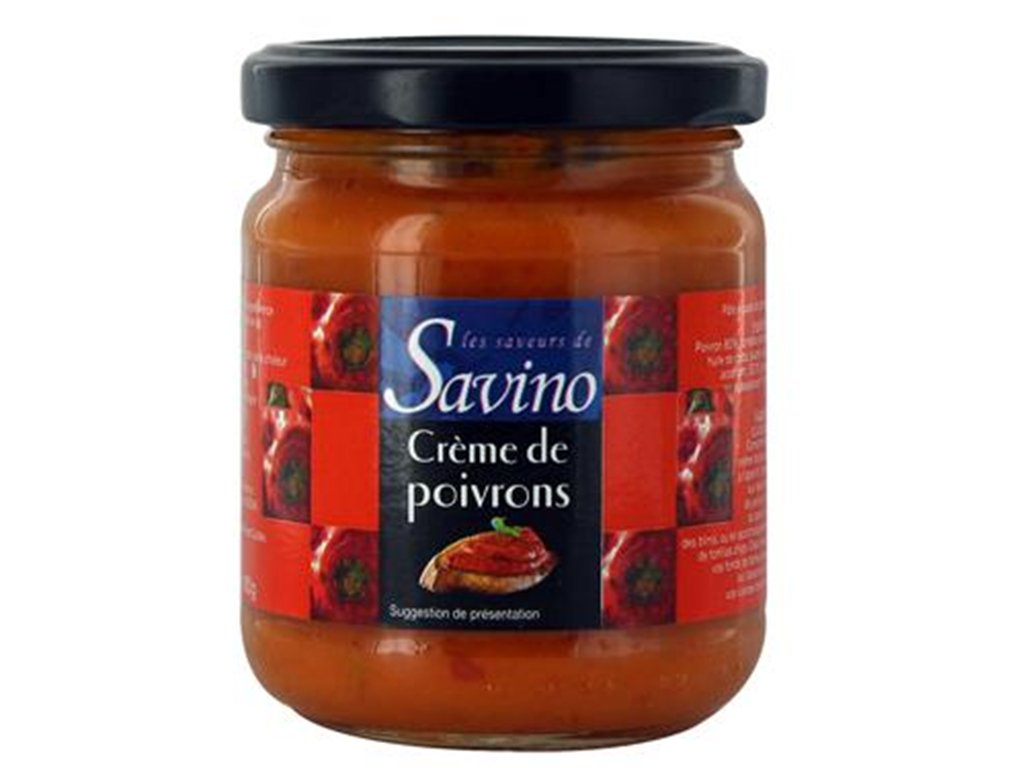 Nakládané papriky - Poivrons Confits - 110g