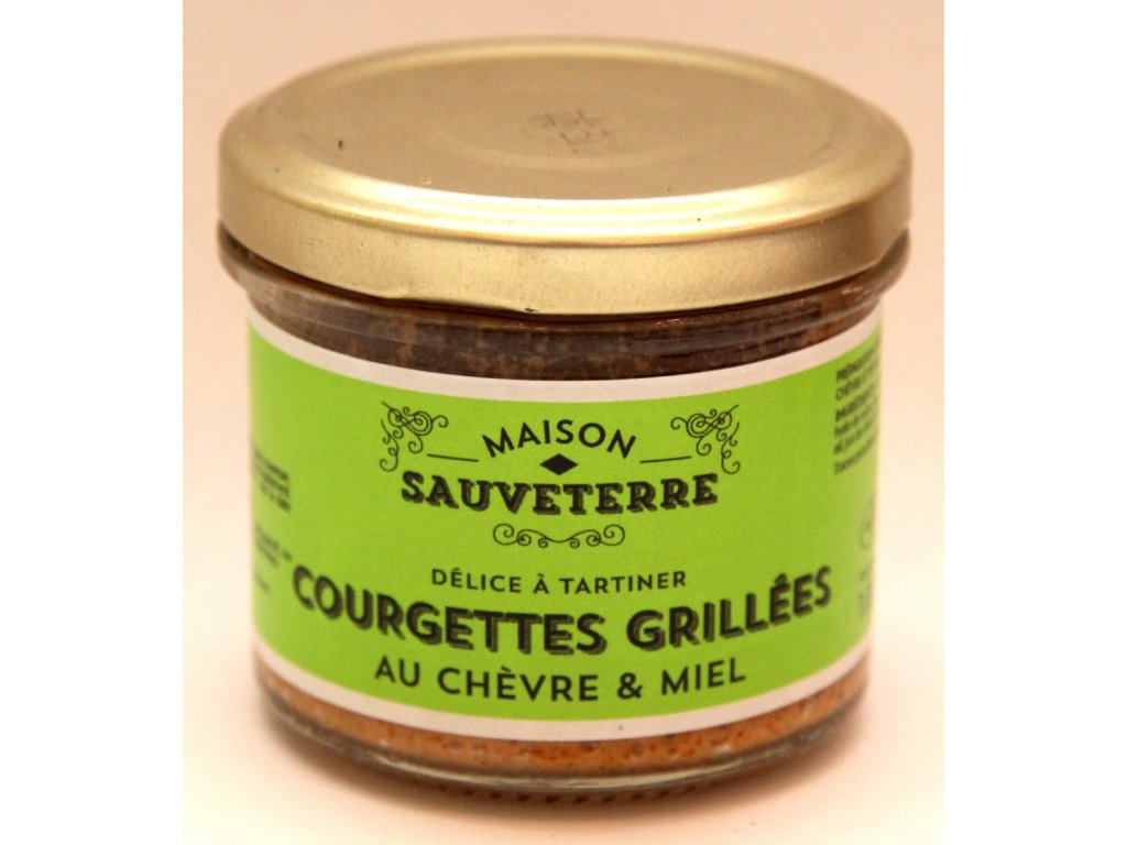 Grilované cuketky - Courgettes grillées - 100g