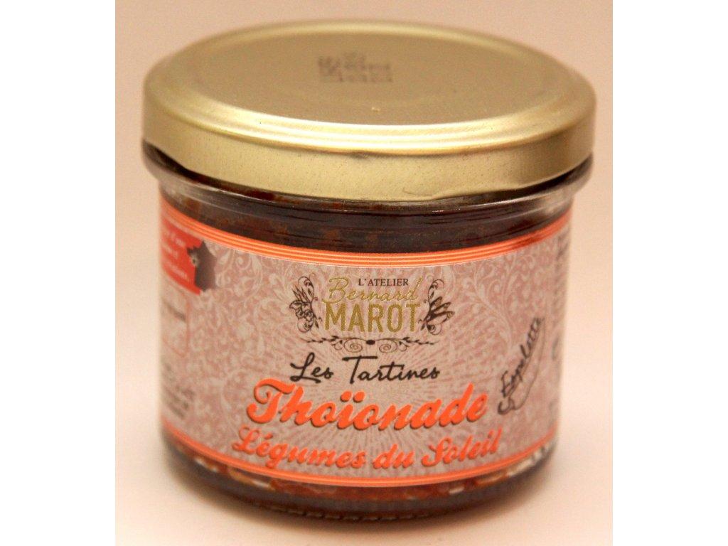 Tapenada ( pomazánka ) z tuňaka,se sušené rajčata, pečené papriky 100g