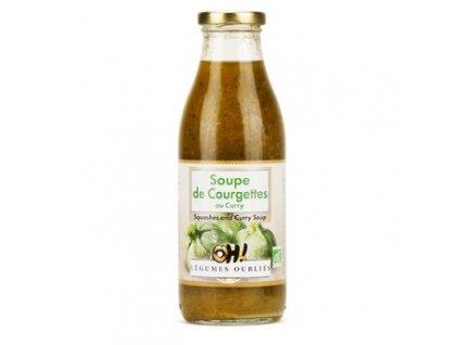 Soupe Patisson Courgette Curry Bio