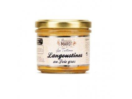 Langoustines Foie Gras Tartiner
