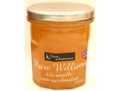 Džem z hrušky Williams s vanilkou 320 g  - Poire Williams á la vanille