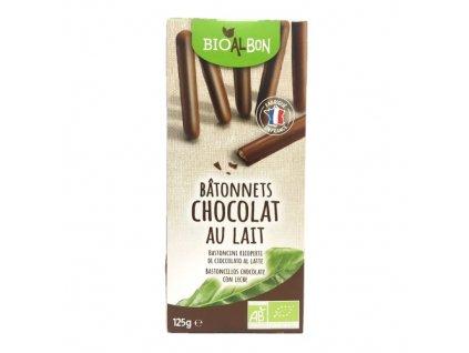 Biscuits batonnet chocolat lait BIO