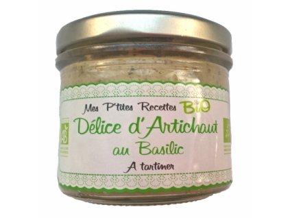 Tartinable BIO artichaut basilic