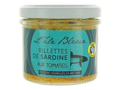 Rillettes de sardine à la tomate